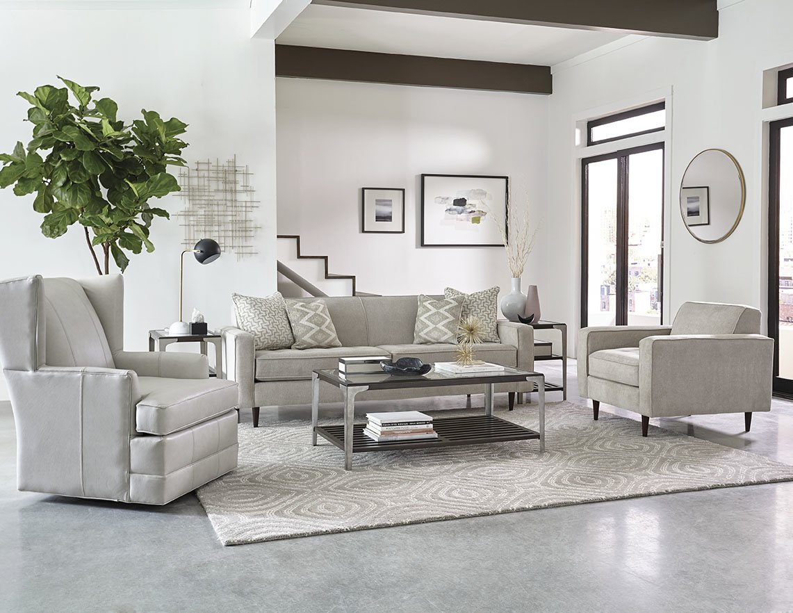 Zane By England Furnitureu0027s SoHo Living Line